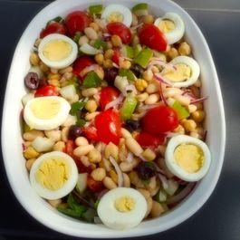 Turkish Bean Salad