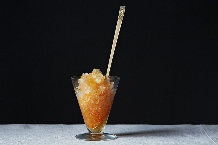 Iced Tea Granita on Food52