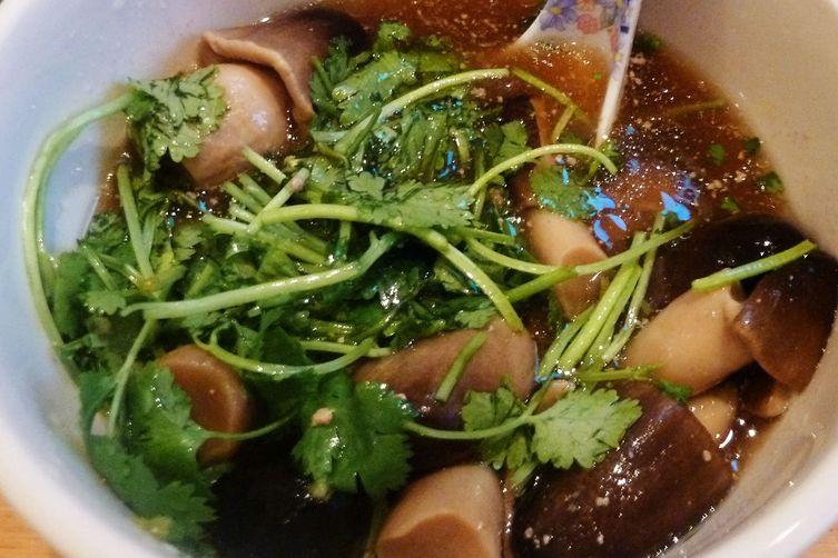 Coconut pork belly stew (& the lazy girl's mushroom soup)