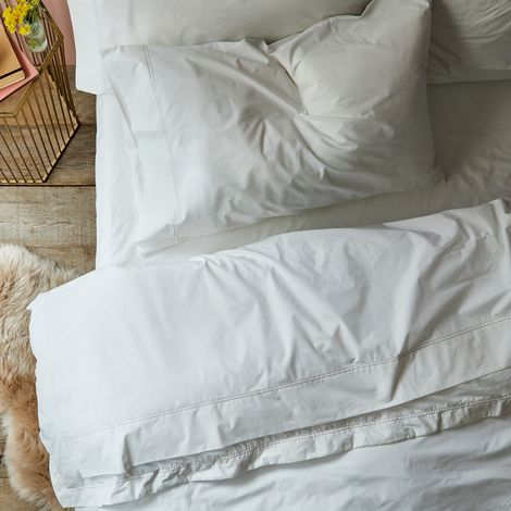 Organic Percale Sheet Sets & Pillowcases
