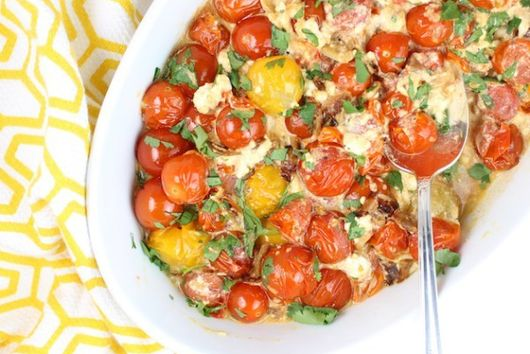 Sweet Cherry Tomatoes with French Feta