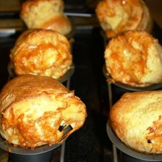 Popovers with Cinnamon Butter
