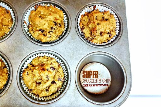 Chocolate Chip SUPER Muffins!