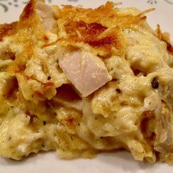 Turkey Enchilada Lasagna (Mexican Casserole)