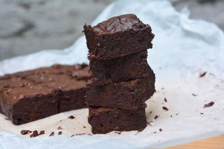 No Pudge Chocolate Fudge Brownies