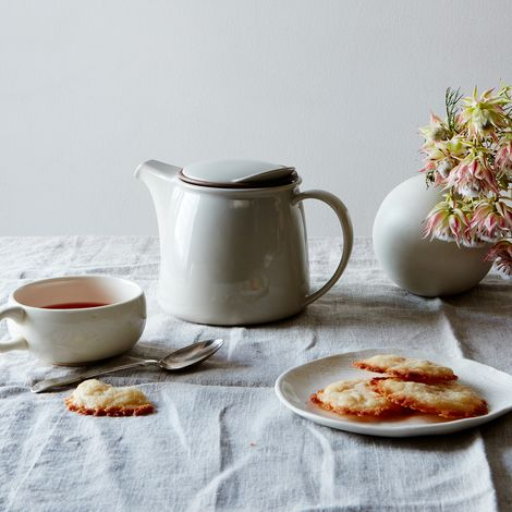 Grey Porcelain Teapot