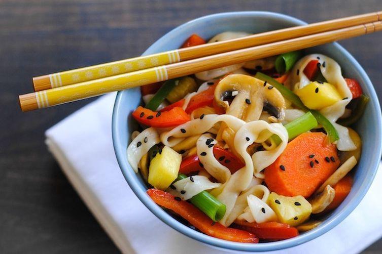 Sweet & Sour Vegetarian Stir-Fry
