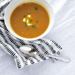 Simple Savory Pumpkin Soup