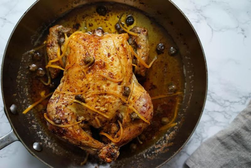 Renee Erickson's Roast Chicken with Brown Butter and Lemons
