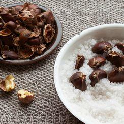 Salt Roasted Chestnuts