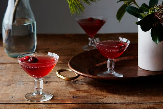 Sparkling Cranberry Gin Punch