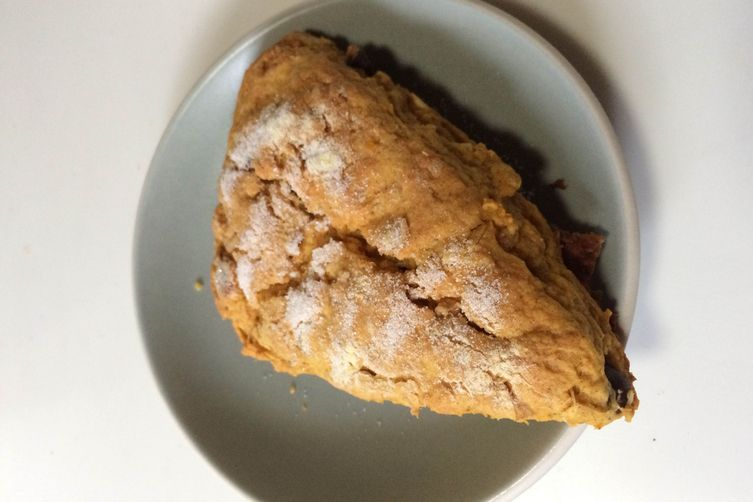 Pumpkin Ginger Almond Scones
