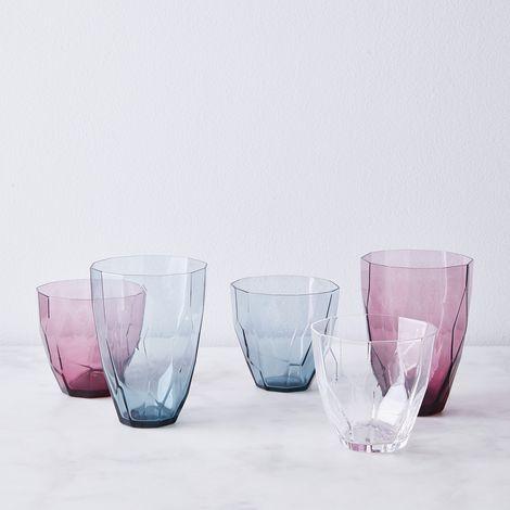 Hand Blown Japanese Geode Glasses