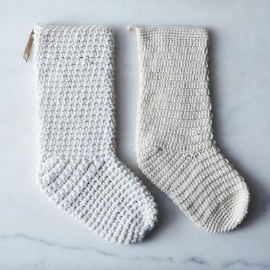 Hand-Crocheted Stocking