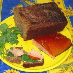 Guinness   Bread with Butter and Smoked Salmon