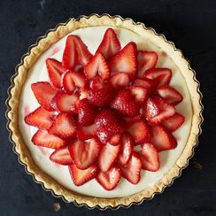 Strawberry-Mascarpone Tart
