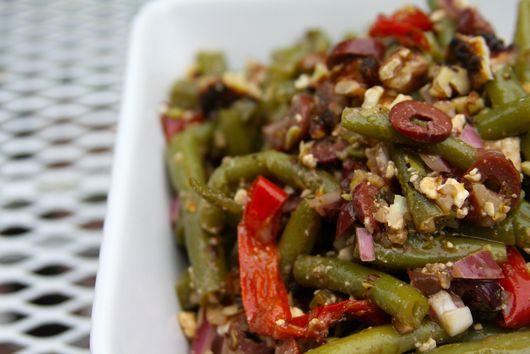 Mediterranean Green Bean Salad