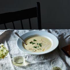 Corn Soup with Corn Husk Stock