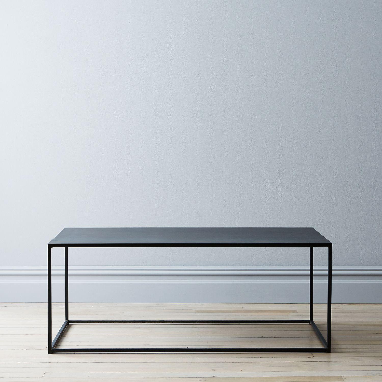 Blackened steel coffee table on food52 for Table 52 brunch menu