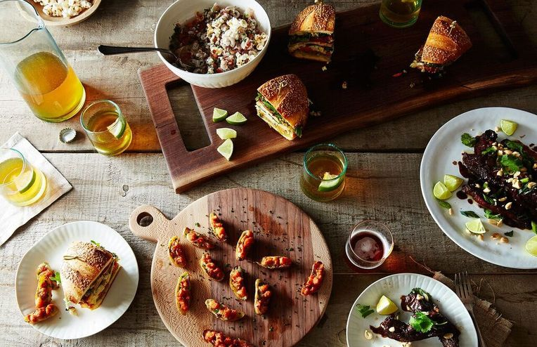 A Game Day Feast from the Food52 Test Kitchen