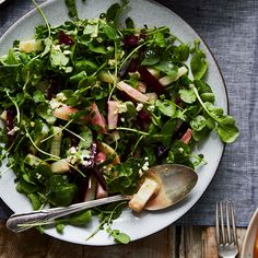 Beet and Celery Root Salad with Watercress