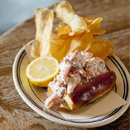 Spicy New England Style Lobster Roll