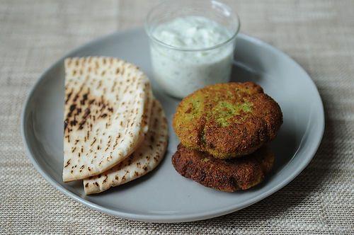 World's Easiest Falafel and Tzatziki