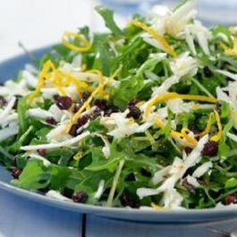 Arugula / Rocket Salad With Melichloro Cheese