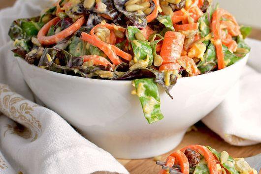 Sunshine Chard and Carrot Salad