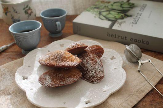 Salted Caramel Madeleines