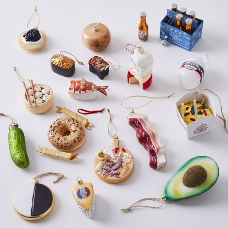 Vintage-Inspired Food Ornaments