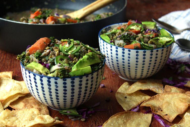 Veggie Lentil Bowls
