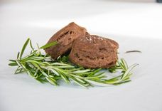 Chocolate Rosemary Biscuits