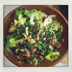 Escarole and Sunchoke Salad