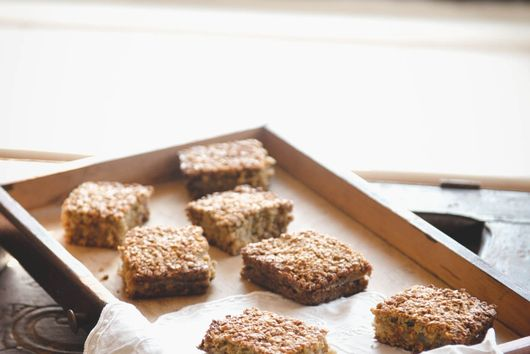 Pear and Oat Shortcakes
