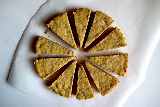 Kamut Flour Shortbread Cookies