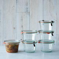 Weck Mold Jars (Set of 6)