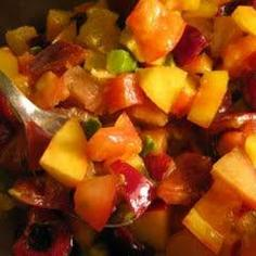 Tomato and Avocado Fruit Salad