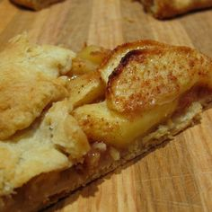Maple-Apple Galette