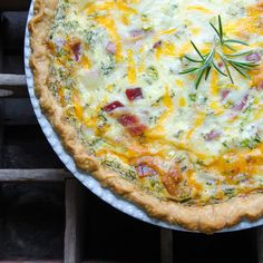 loaded baked potato quiche