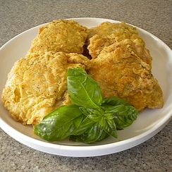 My Fried and Baked Spicy Chicken