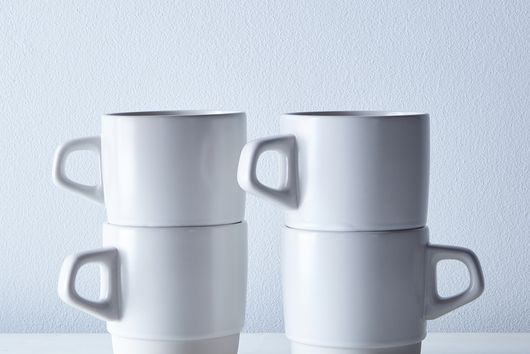 Stackable Japanese Mugs (Set of 4)