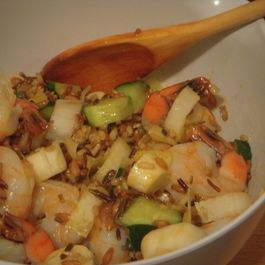Antoinette's Shrimp and Wild Rice Salad