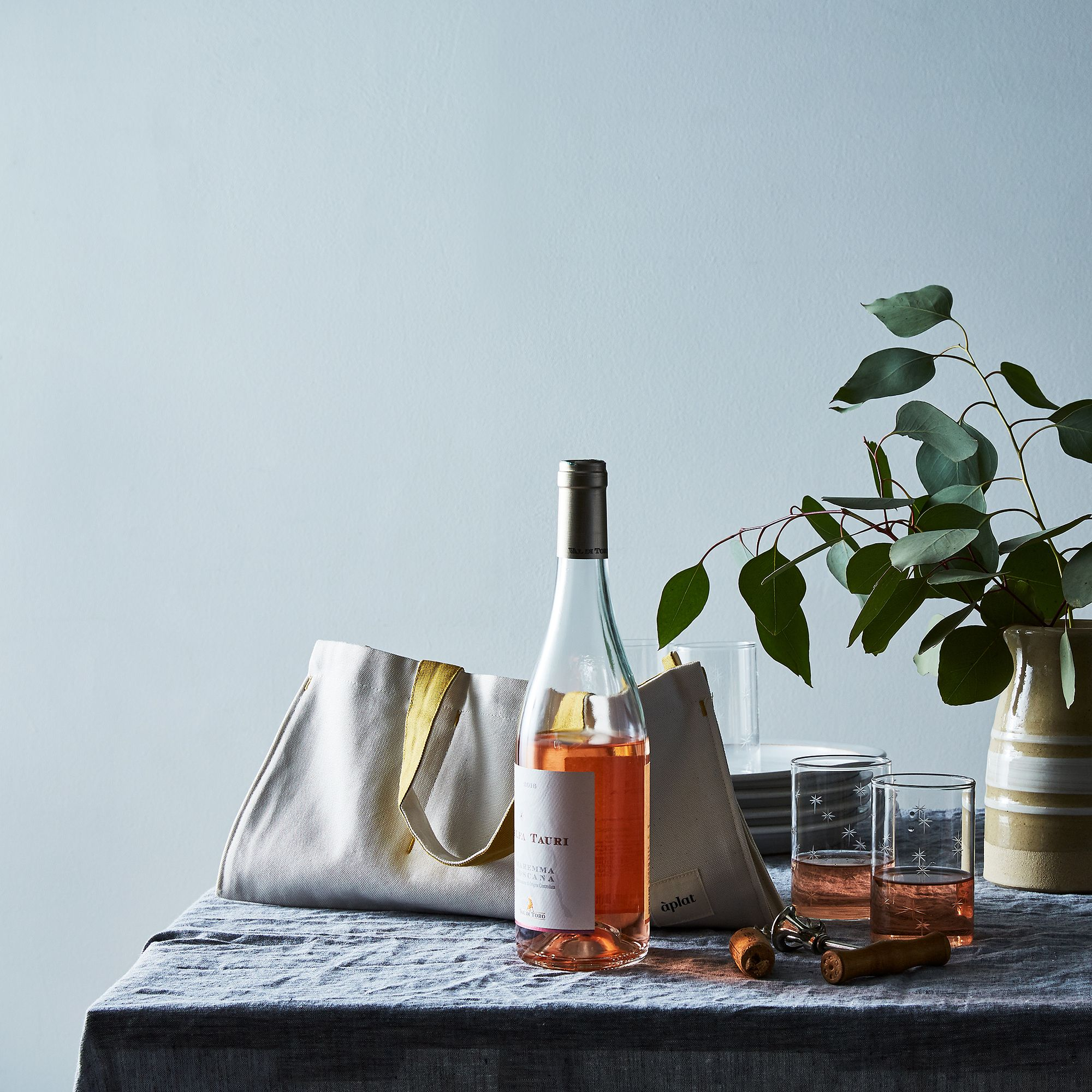 Canvas Wine & Picnic Tote on Food52