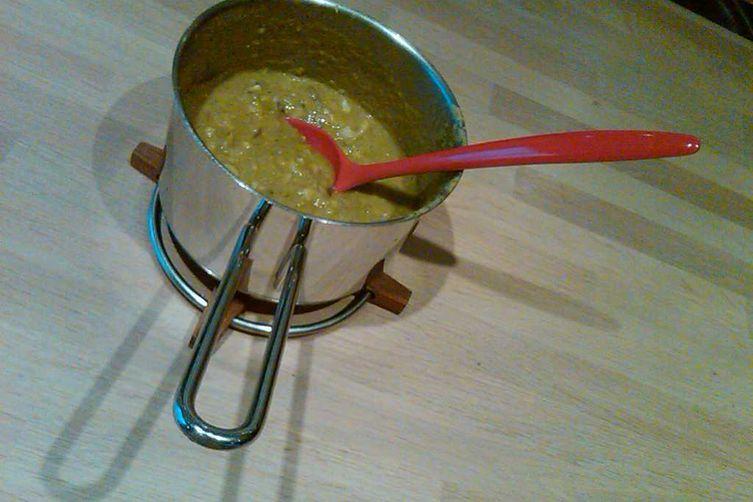 Springy Broccoli Fish Soup