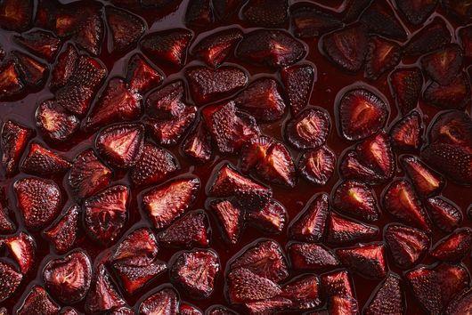 Michelle Polzine's Slow-Roasted Strawberries