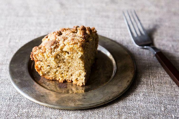 Cardamom Crumb Cake