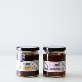 Onion Jam & Plum Chutney