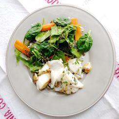 Cod & Lentils Salad