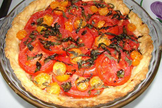 Aunt Mary's Tomato Tart